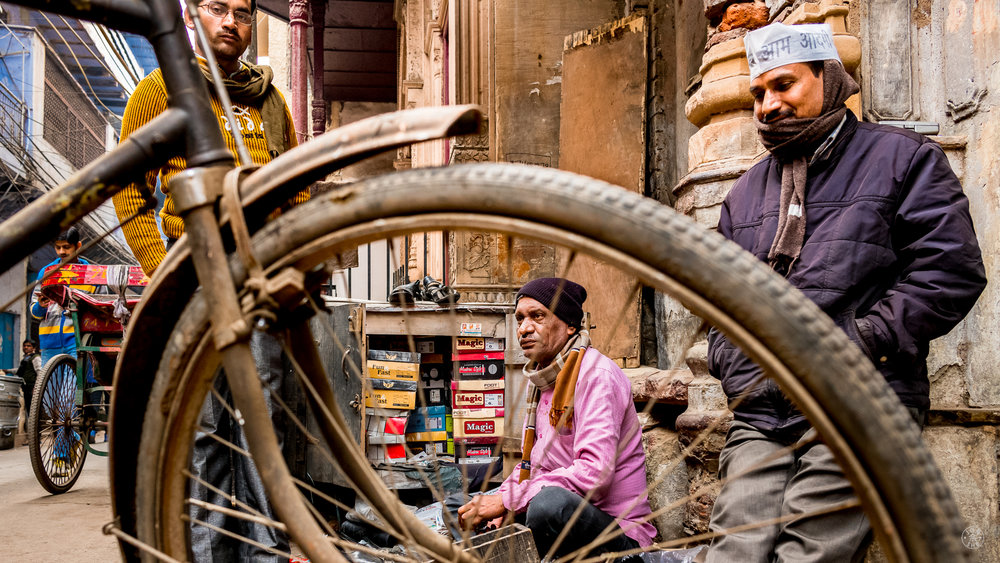 """The Cobbler"".  Old Delhi, India. January 2017. © Jon She.Leica M10, Leica Summilux 28mm f/1.4 ASPH."
