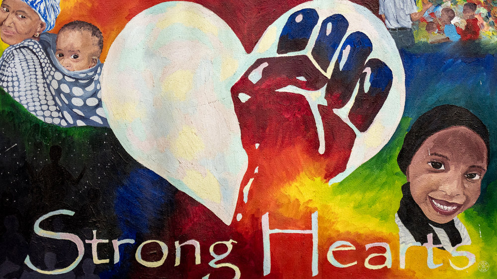 Strong Hearts Painting