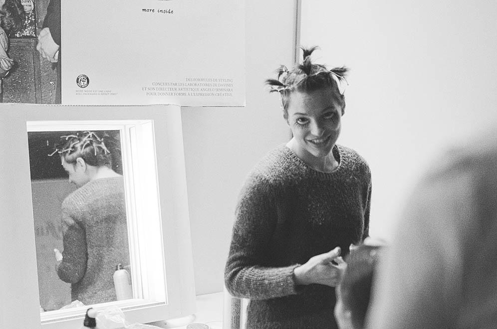coiffure défilé salon mode