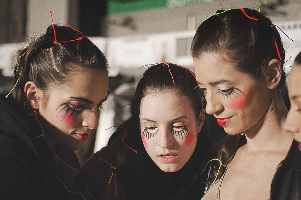 maquillage visages femmes
