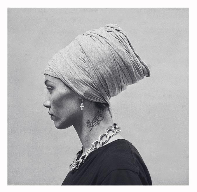 turban femme et bijoux