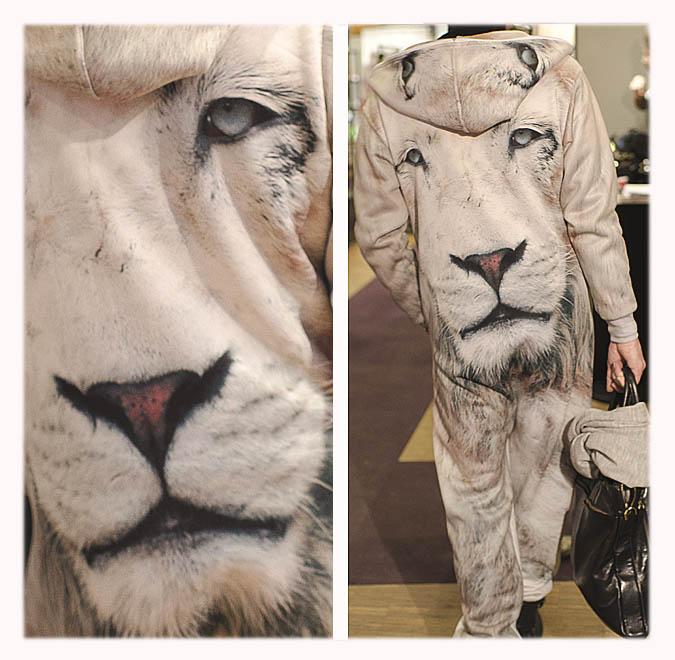 combinaison lion
