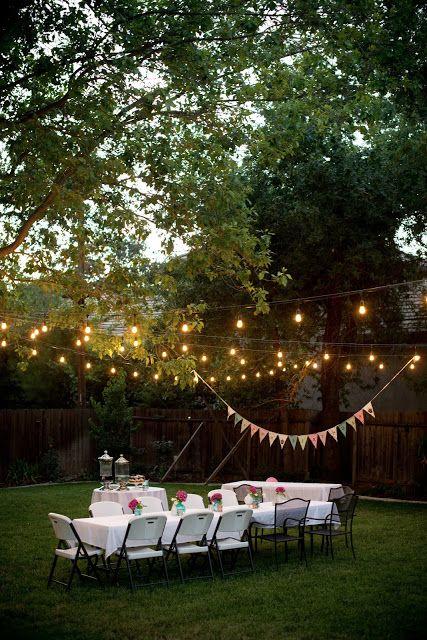 Table à dînner jardin