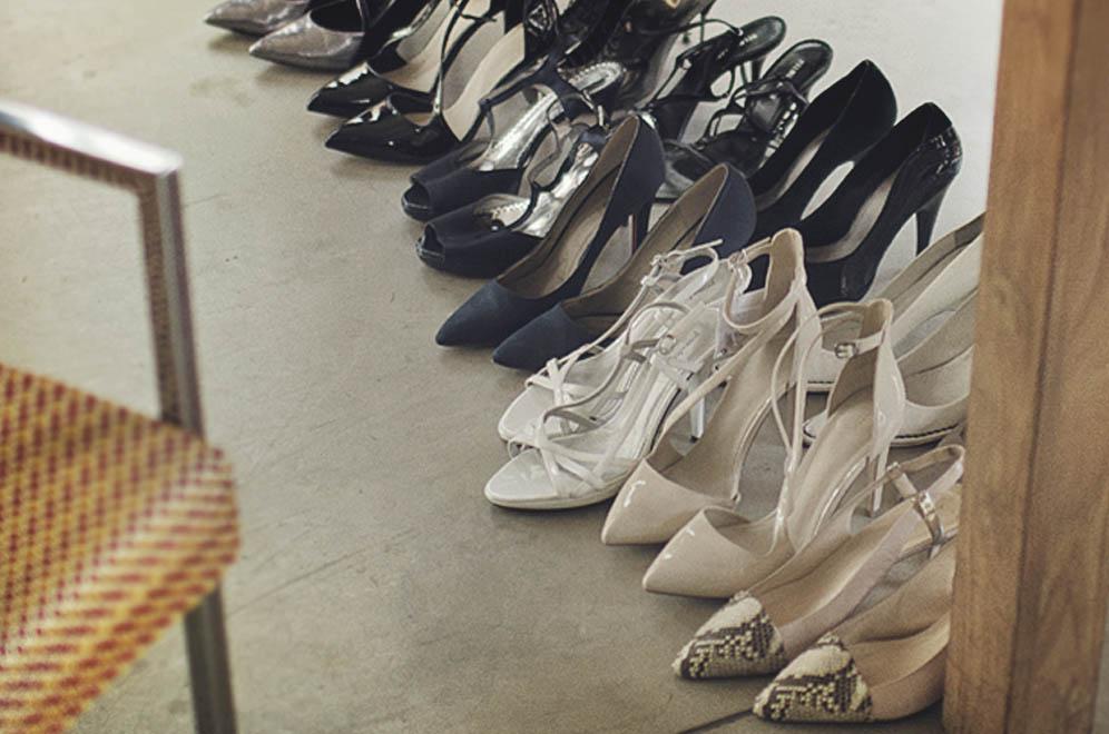 chaussures séance photo