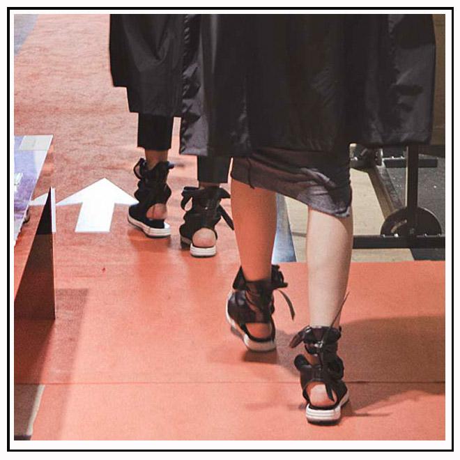 Sandales salon tranoï