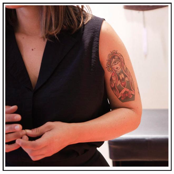 Tatouage couleur bras