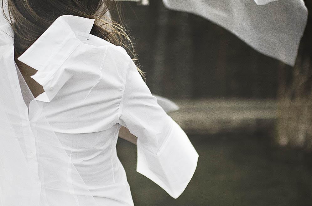 chemise blanche ken okada