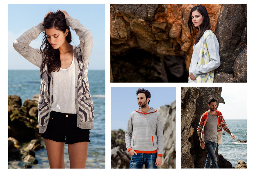 collection homme femme mailles