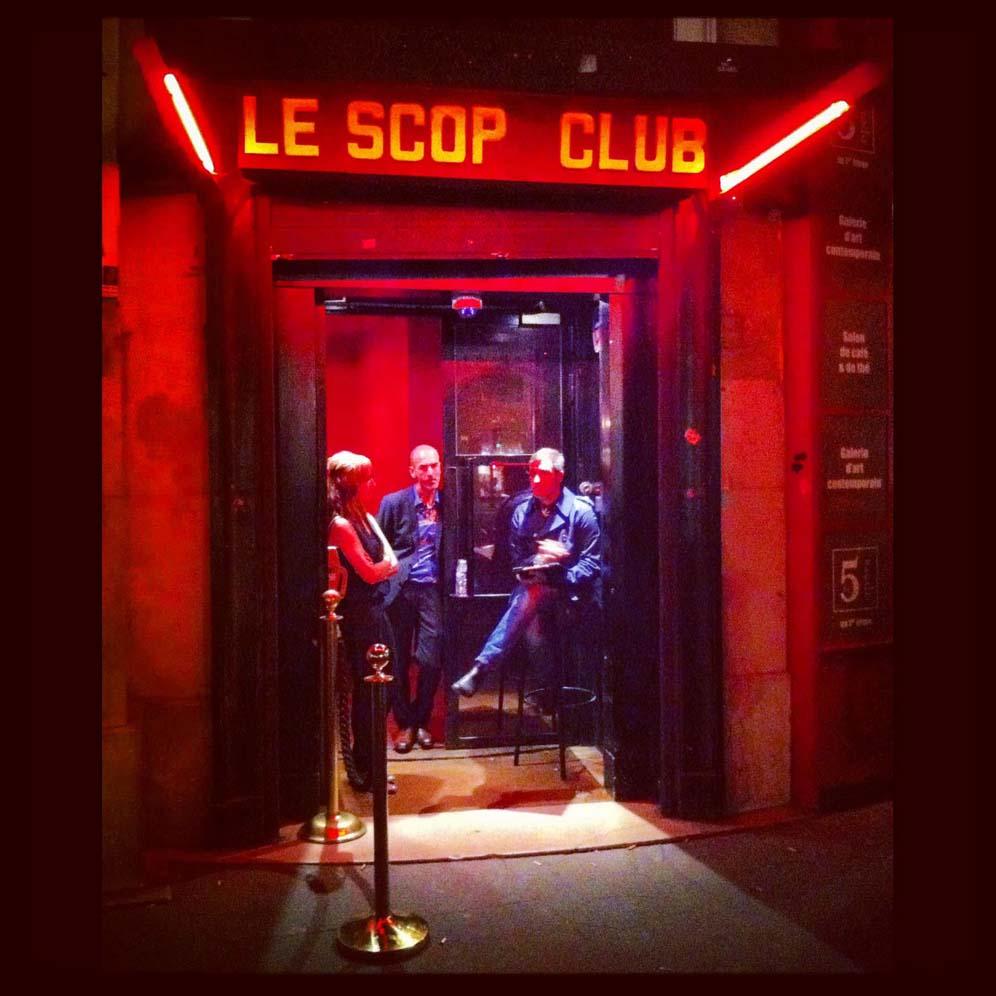 Entrée du scop club