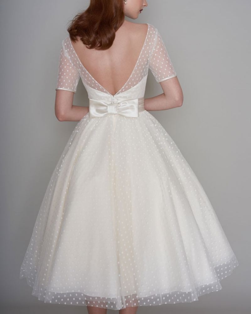 45513cb77c3 Calling all vintage loving brides! We have the new 2017 collection by  LouLou in-store for one weekend only and it s simply stunning. From cute  polka dots