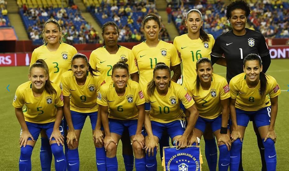 Nr.6 Tamires Cássia Dias De Britto og det Brasilianske landshold