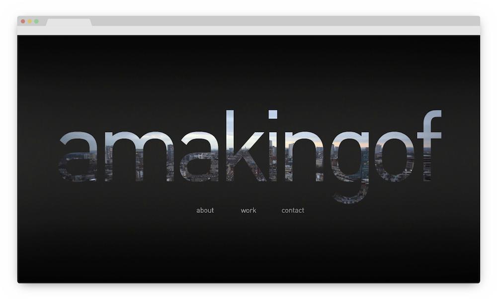 amakingof homepage