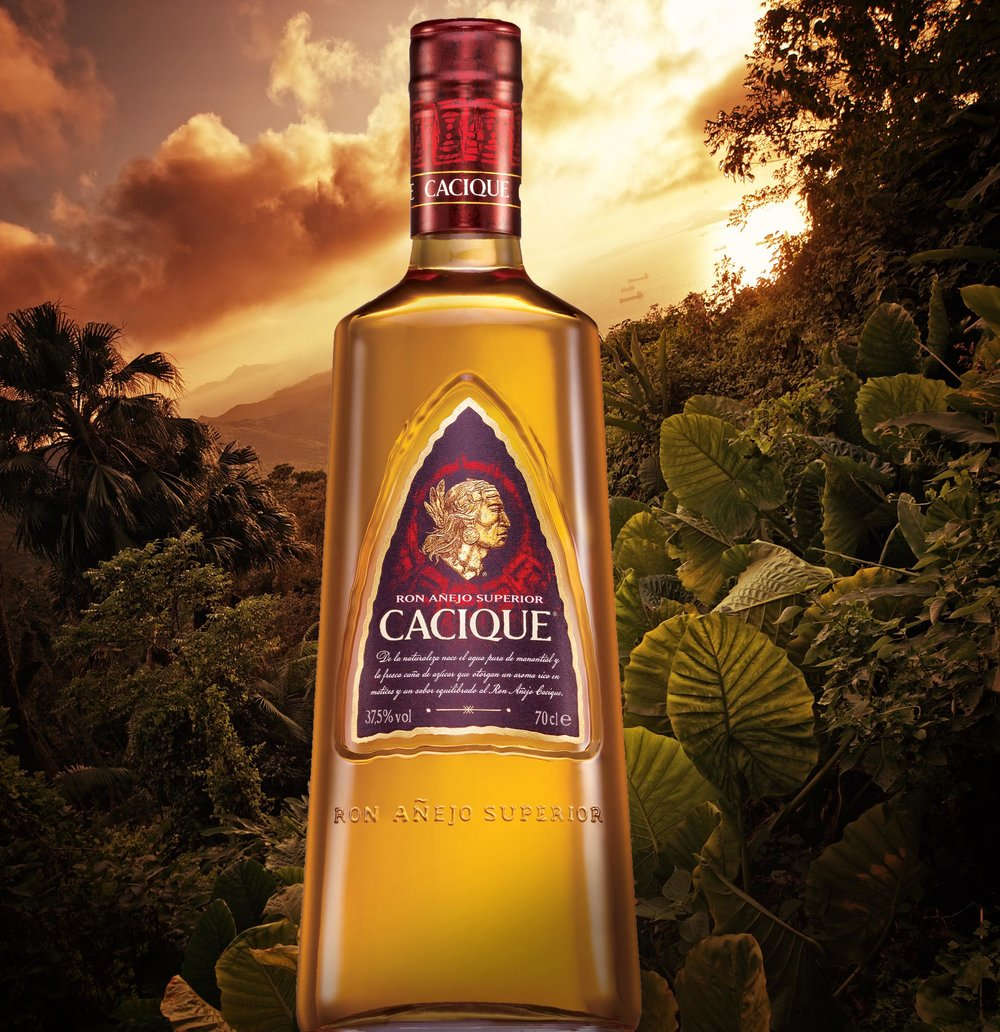 Cacique Bottle in Jungle1.jpg