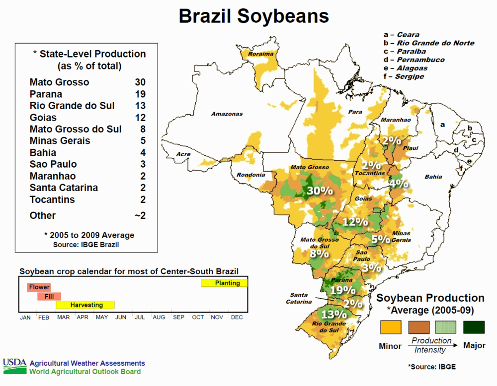 Brazil Soybeans Crop Map.png