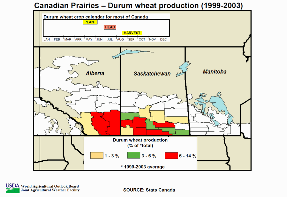 Canada Durum Wheat Crop Map.png