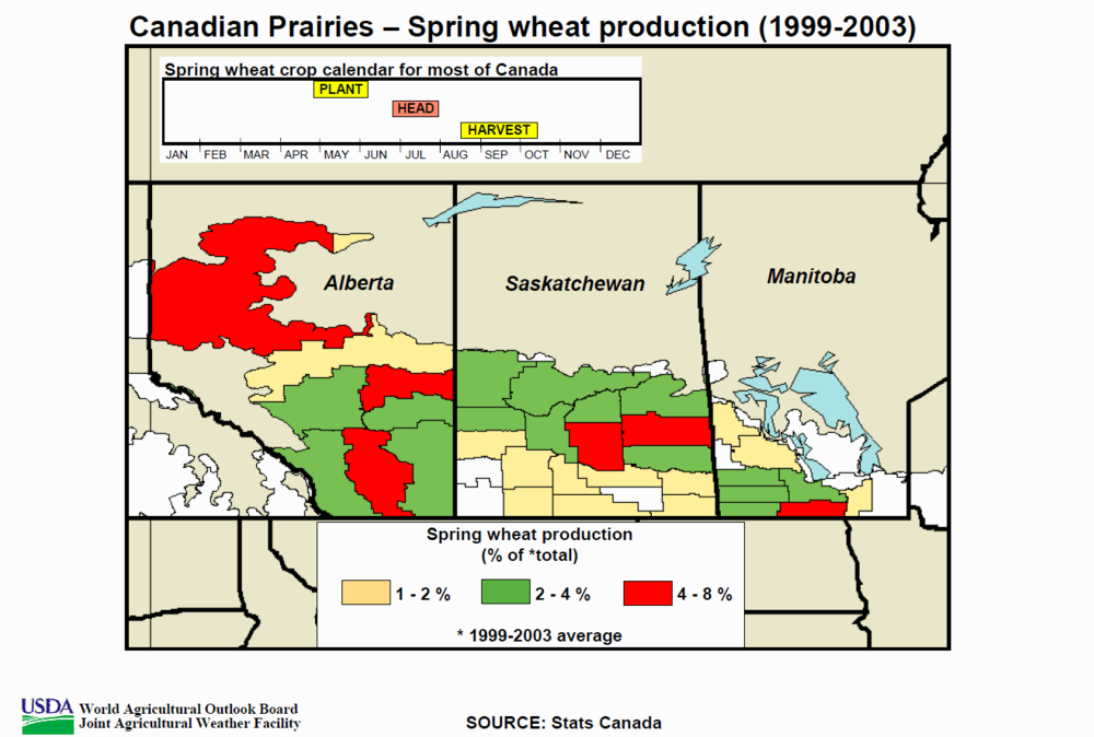 Canada Spring Wheat Crop Map.png