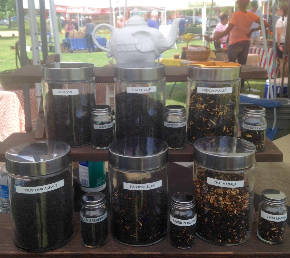 Hand blended black teas