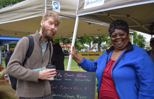 The Creole Diva at Richland Park Farmer's Market