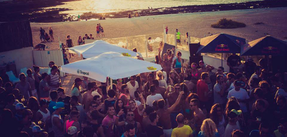 Beach Party en Sunset Lounge