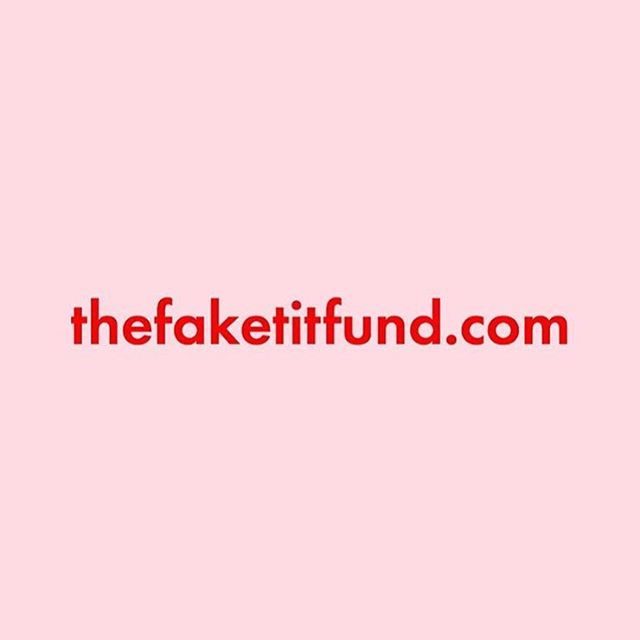 ☝️to read more about our documentation project and check out some super fresh prod ❤️✨#breastcancer #charity #thefaketitfund ☝️link in bio☝️