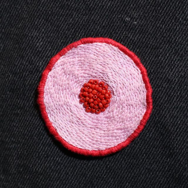 Through collaborative projects, TFTF aims to expand our product line while supporting creatives and increasing our donation to charities that research and support the #breastcancer community. ✂️Hand embroidered in London by Hannah @b1tchcanst1tch ❤️ CLICK link in BIO to SHOP