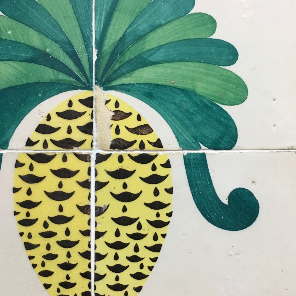 Gorgeous tiles at Dorey Tile shop