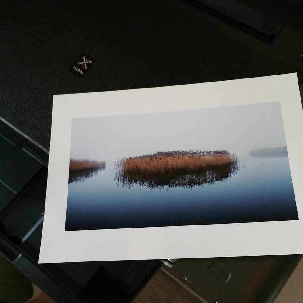 One of the first prints with my Canon Pixma PRO 1