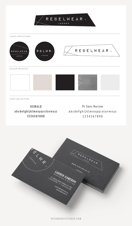 Fashion designer branding logo design stationary modern feminine edgy.jpg