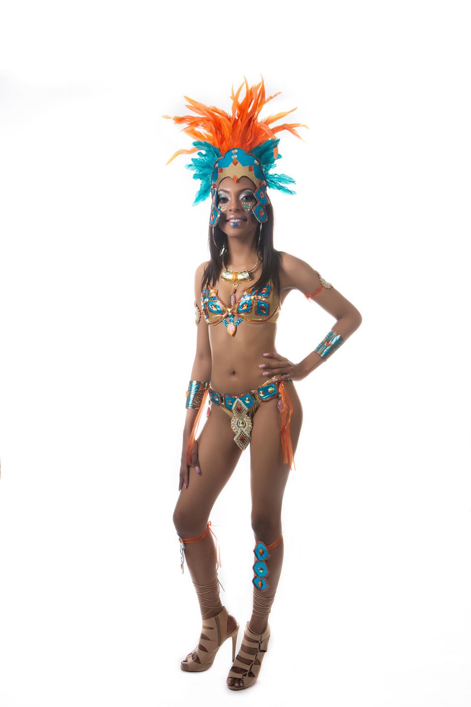 Toronto Carnival 2016 Costume