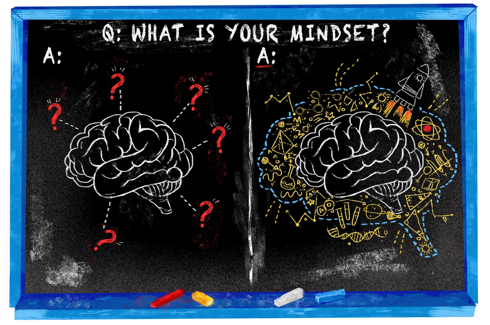 Image from Resource 2)   A Mindset Revolution Sweeping Britain's Classrooms   May be   Based on Shaky Science