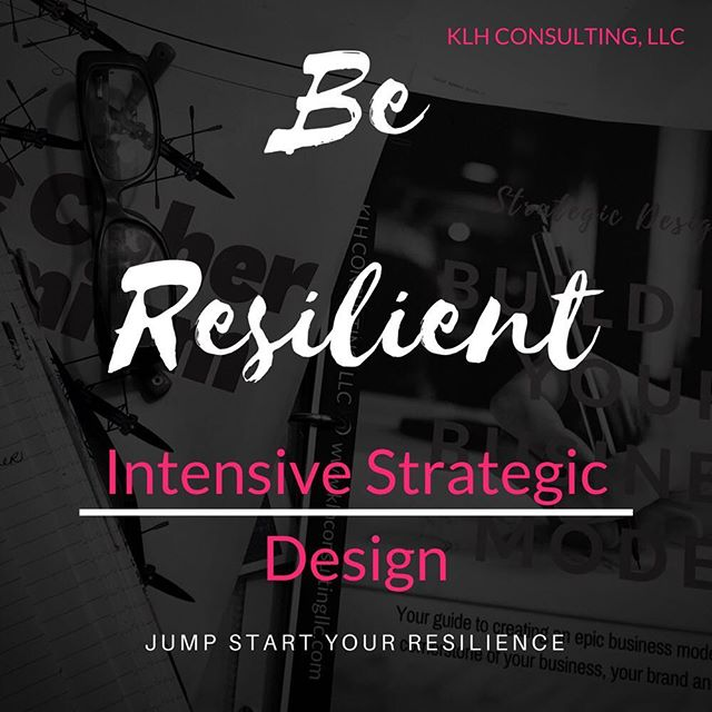 Intensive Business Model Design Session http://buff.ly/2l7muAN . Jump Start Your Resilience w/1-hour session.