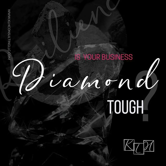 Is your vision, your business, your dream 'diamond tough'? Do you have the mindset and the grit to handle the pressures of designing a business that you love? Click on the link in bio to read my recent blog post on ways to see if you are on the path to resilience.  https://buff.ly/2IrMj8p #hustlehard #businesslife #businesspassion