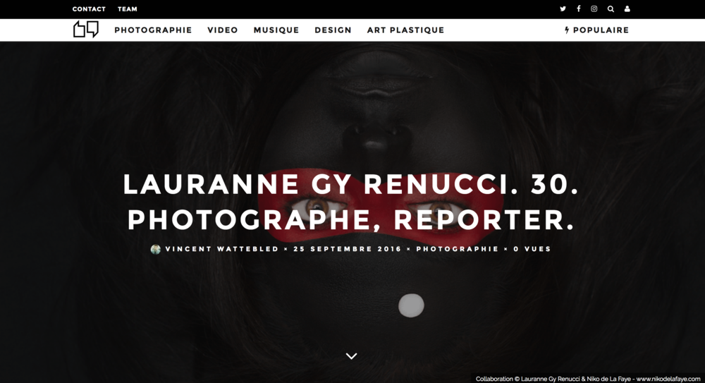 Interview Lauranne Gy Renucci