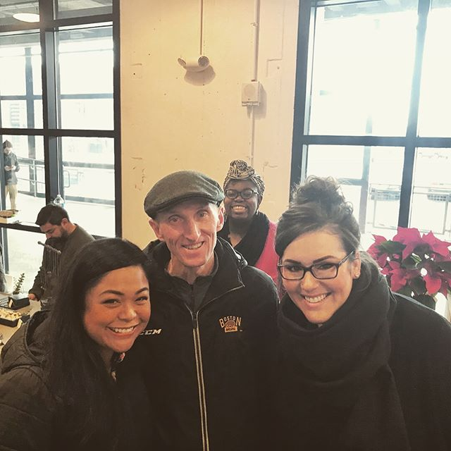 Look who we ran into at the South Boston Holiday Market—former Commissioner of the Boston Police Department, William Evans! Come down and see us—we're here until 6pm!  #southbostonholidaymarket #newenglandopenmarkets #shopping #christmas #holiday #holidaygifts #greenbeauty #ecobeauty #greenbloggers #shoplocal #smallbusiness #femaleentrepreneurs