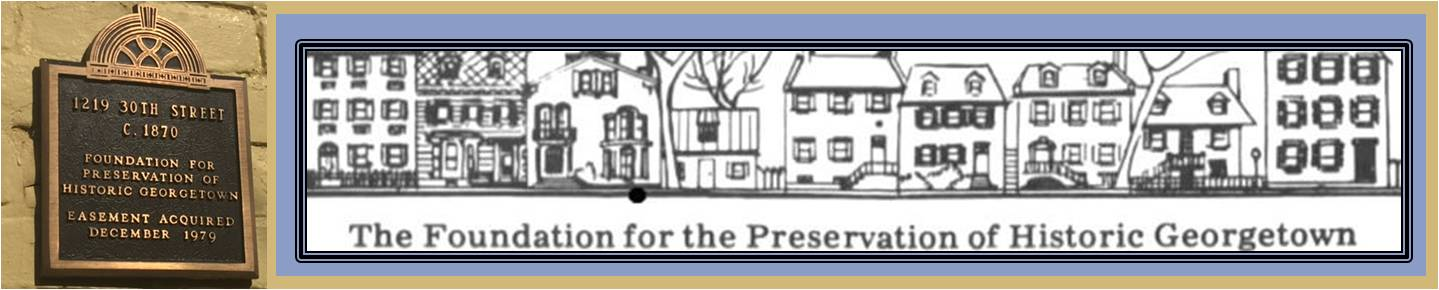 Foundation for the Historic Preservation of Georgetown