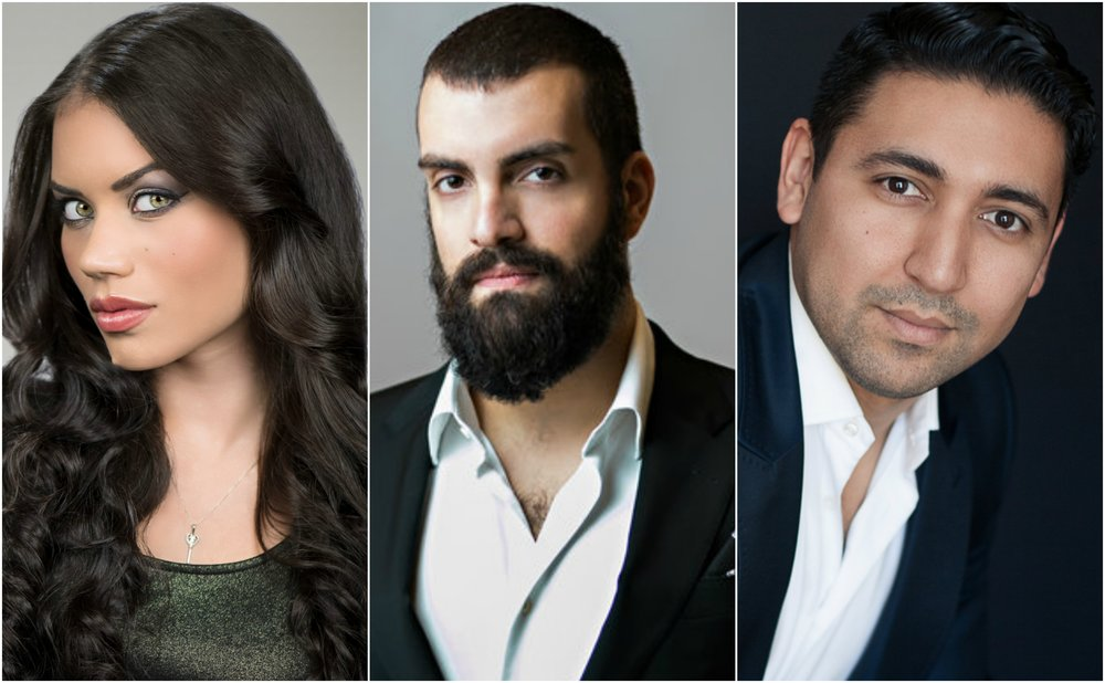 Ginger Costa-Jackson, Timothy Bruno, and Efrain Solis