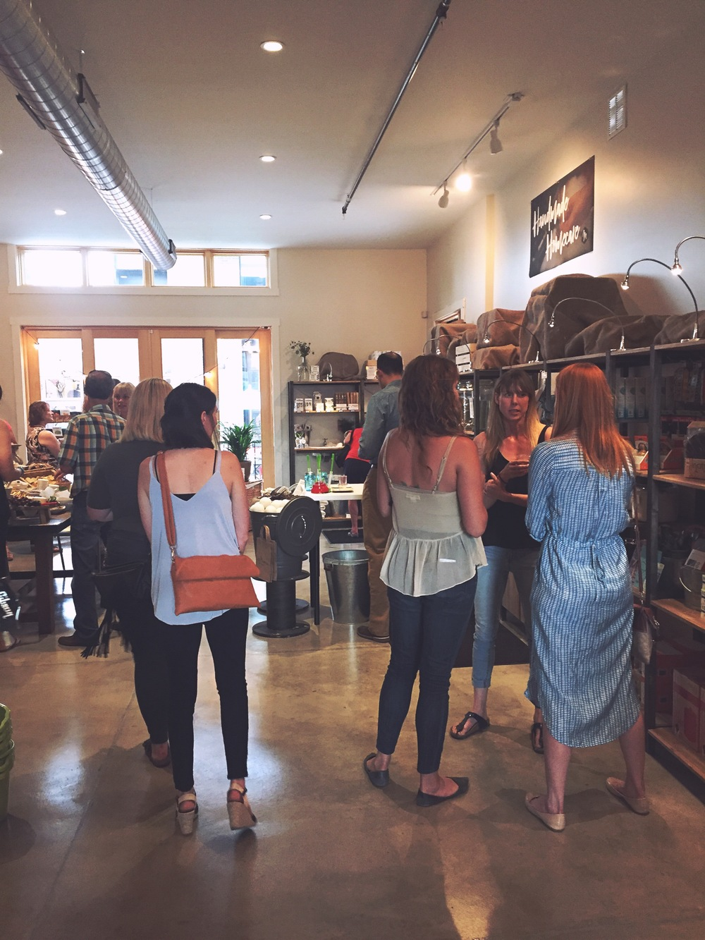 The store was packed out during the Soft Opening on Friday night!