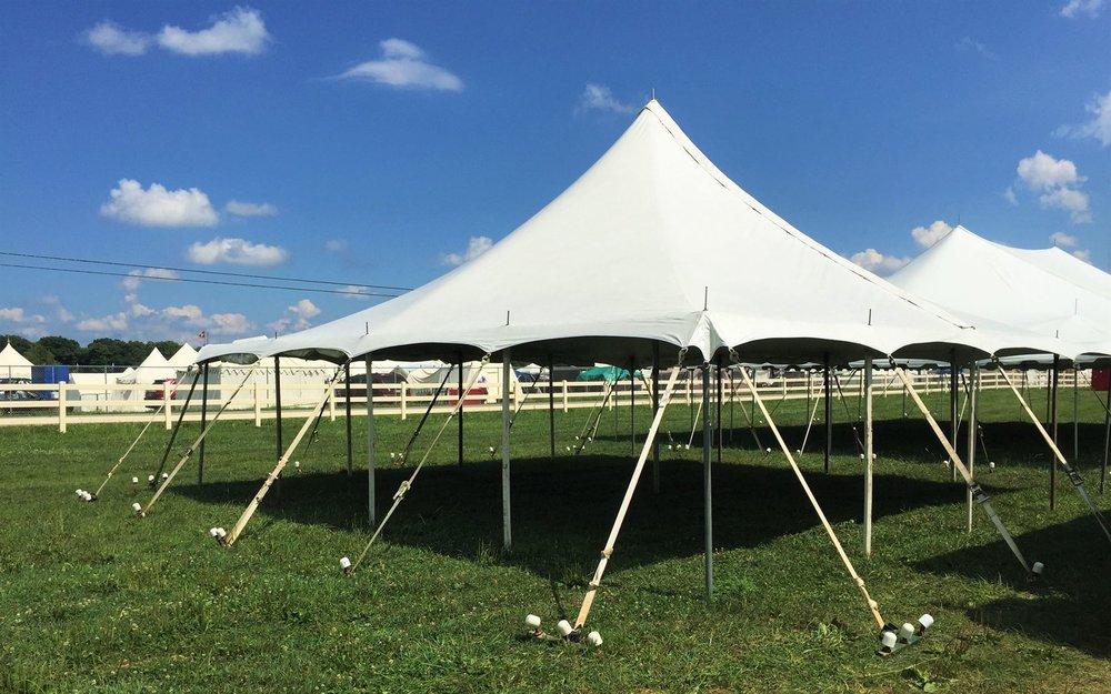 30' x 30' Large Pole Tent