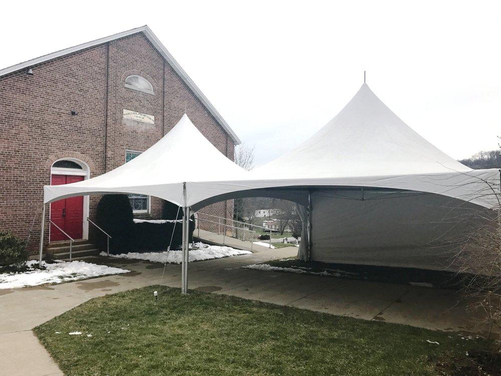 20' x 40' High Peak Frame Tent