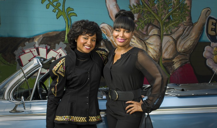 Rhyon Nicole brown plays michel'le in the biopic