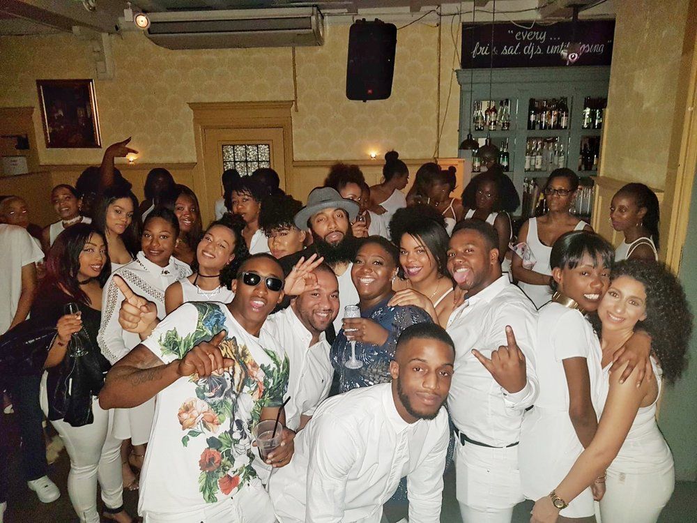 All White Lavish Party!