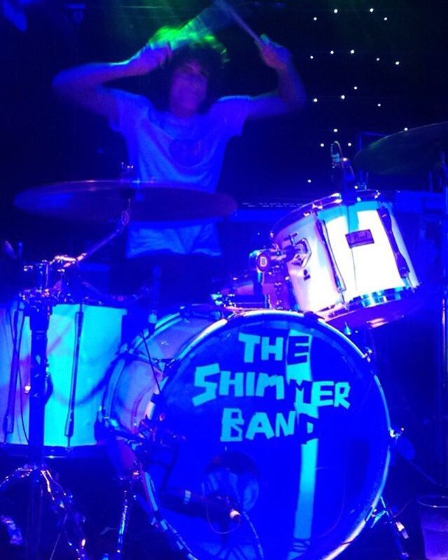 ✨Live @dingwallscamden ✨ #theshimmerband #rock #rocknroll #pop #psychedelic #guitar #bass #drums #synth #bristol #london #2016 #camden #pearldrums #newmusic #music #gig #band #festival