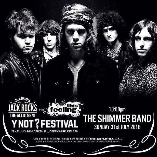 ✨@ynotfestival Headline Sunday eve 10pm✨Bring it on! @thisfeelinghq @jackdaniels_uk @ted_joyce #theshimmerband #band #rock #rocknroll #pop #live #loud #festival #gig #bristol #2016 #music #newmusic #guitar #bass #drums #new #synth #uk #tour #ynot #fest #psychedelic