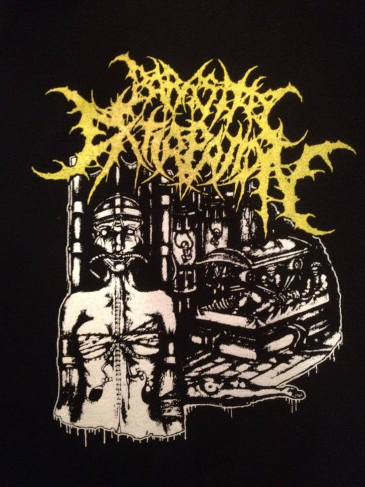 T-shirt printed Parasitic Extirpation.jpg