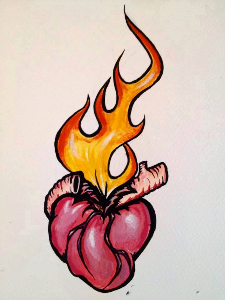 Drawing - Burning heart.jpg