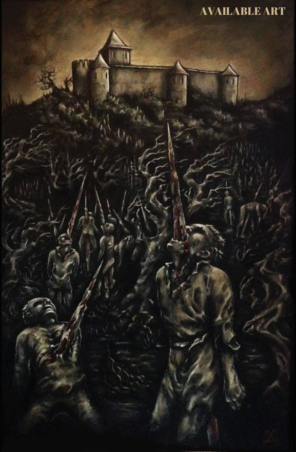 Painting - Forest of impaled.jpg