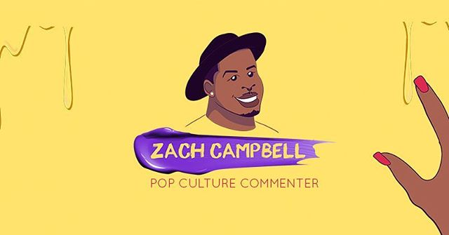 1/3 Twitter Layout for #zachcampbell  #design #branding #art #Animation