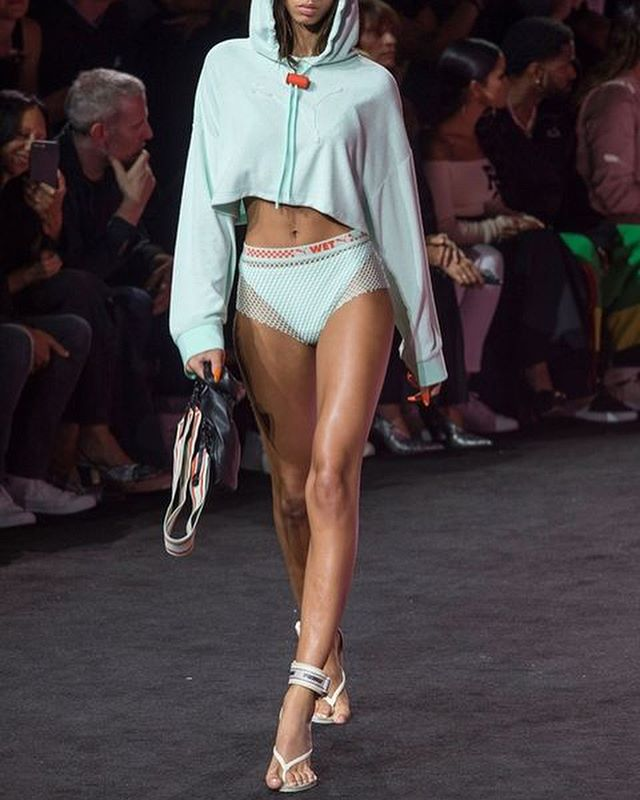 Issa #RebelPick | Shades of Blue  Fenty x Puma S/S 18  Rihanna, I'll say that again, RIHANNA integrated Puma, a sportswear brand, with a taste of high fashion and managed to kill yet another show at NYFW. Seriously, she's a Queen. No one does it better.