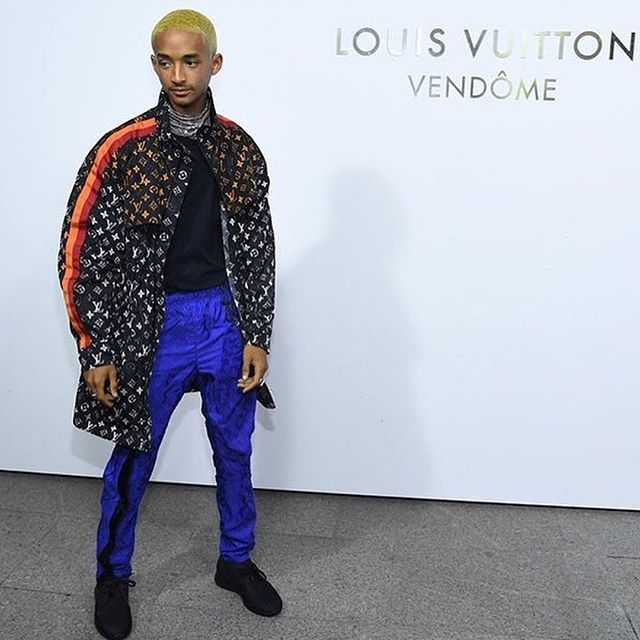 @c.syresmith at the Louis Vuitton flagship boutique opening in Paris