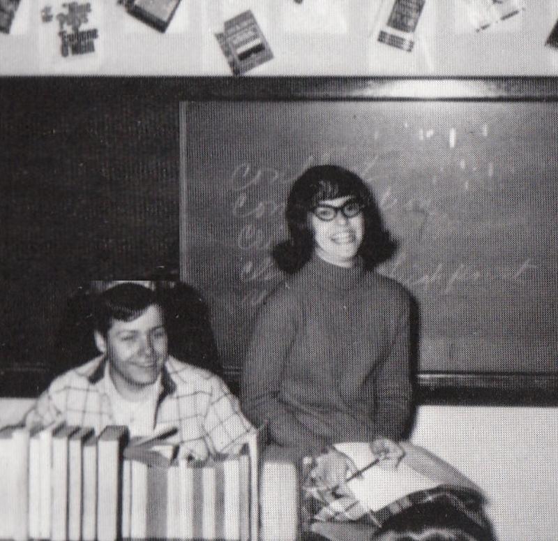 Gene and Laura, Frankfort Community High School, 1968
